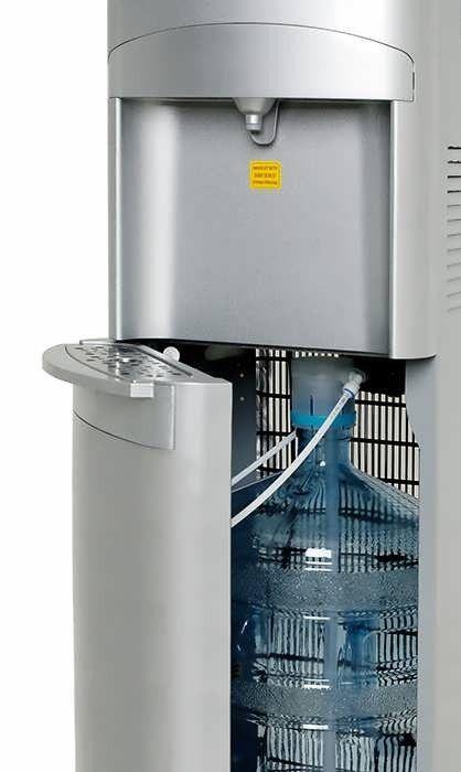 Кулер напольный компрессорный для воды с нижней загрузкой HotFrost 45AS