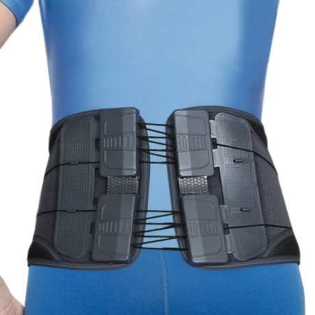 Корсет ортопедичний поперековий з тяговою системою EB-751 Ortop