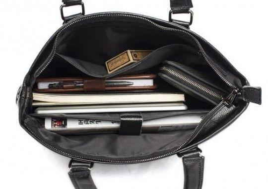 Сумка-чехол для ноутбука Vintage 14880 коричневая