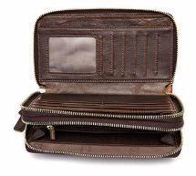 Клатч чоловічий Vintage 14908 коричневий