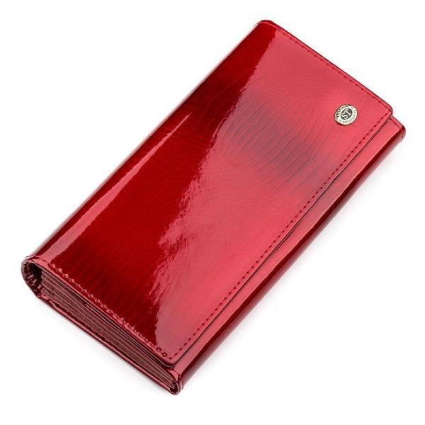 Кошелек женский ST Leather 18392 (S2001A) многофункциональный красный