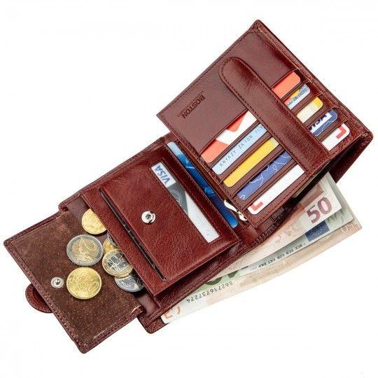 Гаманець для чоловіків Boston 18816 коричневий