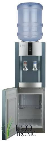 Кулер підлоговий Ecotronic H1-LCE Silver