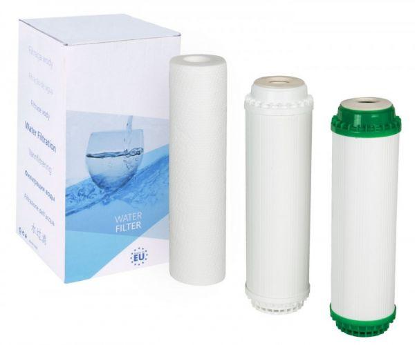 Комплект картріджів FP3-K1-CRT для систем Aquafilter (FP3-K1, FP3-HJ-K1, FP3-2)