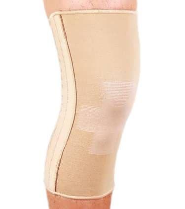 Бандаж еластичний на колінний суглоб із спіральними ребрами ES-719 Ortop
