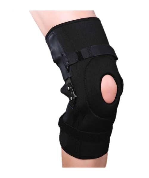 Ортез на колінний суглоб з полицентрическими полегшеними шарнірами роз'ємний ES-798 Ortop