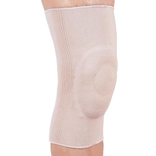 Бандаж эластичный на коленный сустав с силиконовым кольцом ES-710 Ortop