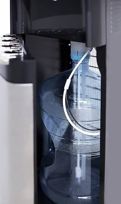 Кулер підлоговий компресорний для води з нижнім завантаженням HotFrost 35AN