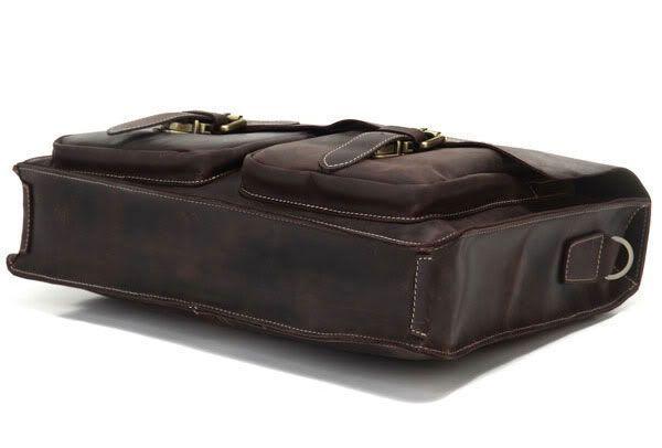 Портфель Vintage 14086 коричневый