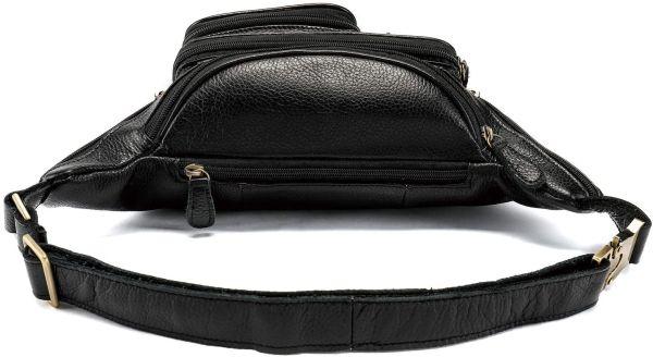 Поясная cумка мужская Vintage 14817 черная