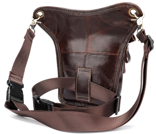 Поясная сумка Vintage 20014 коричневая