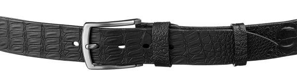 Ремень джинсовый MAYBIK 15273 черный