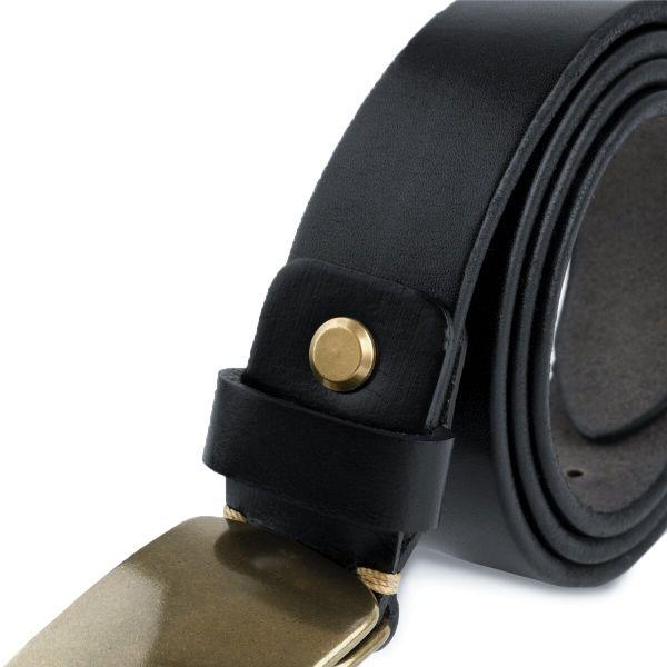 Ремень мужской автомат сasual Vintage 20122 черный