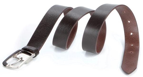 Ремень GRANDE PELLE 00769 кожаный коричневый