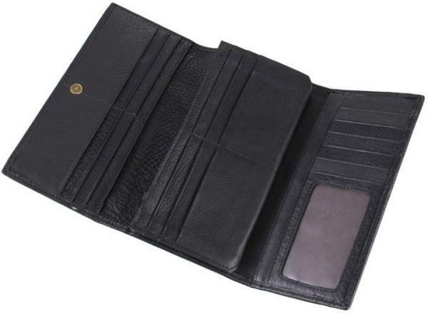 Кошелек Vintage 14446 черный