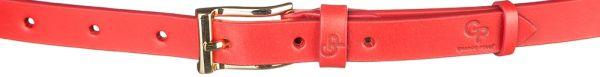 Ремень женский Grande Pelle 11074 кожа красный