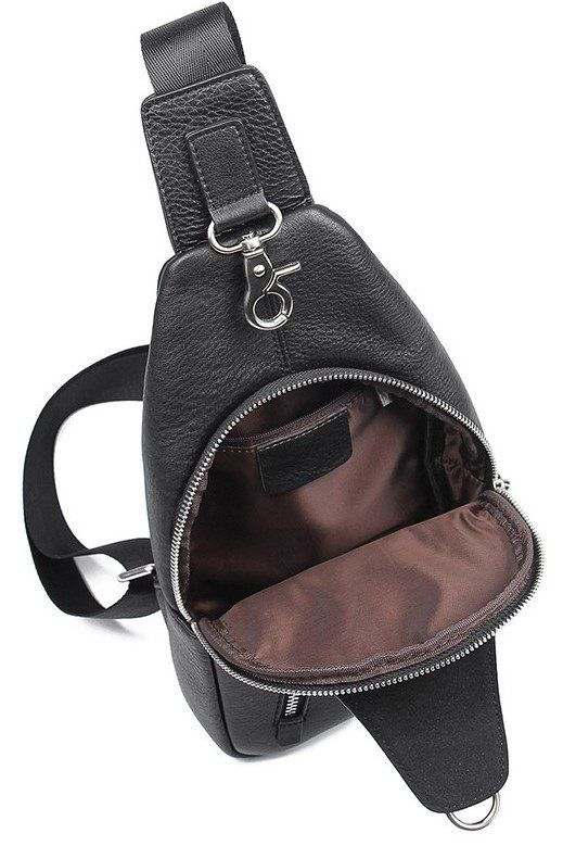 Сумка мужская флотар через плечо Vintage 14973 черная