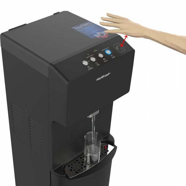 Напольный кулер HotFrost 450AMI Black с компрессорным охлаждением