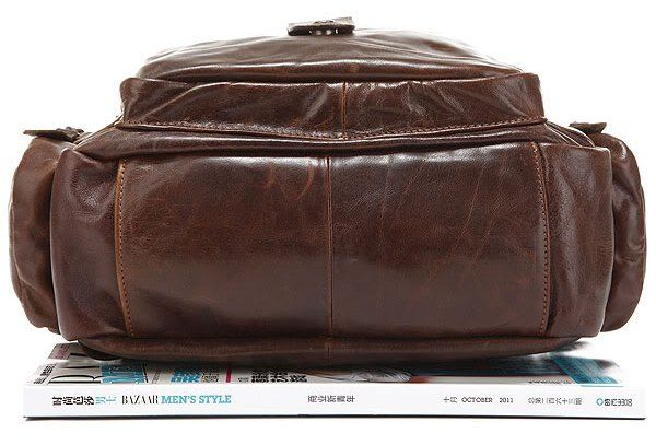 Рюкзак Vintage 14232 кожаный коричневый
