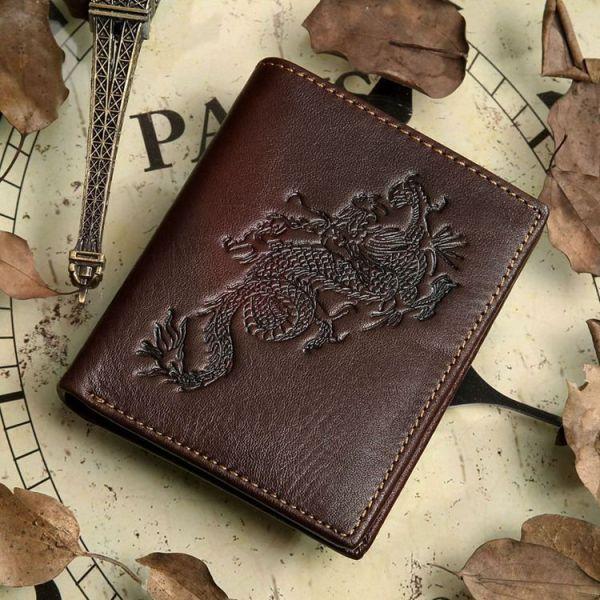 Кошелек мужской Vintage 14171 коричневый