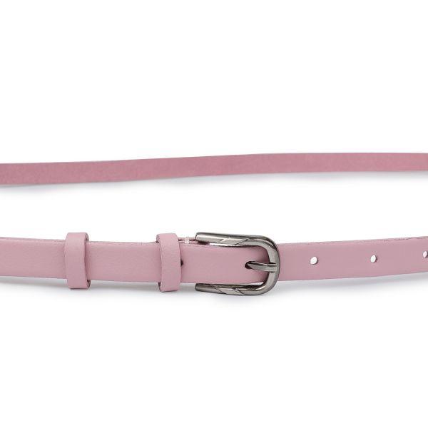 Женский ремень из натуральной кожи Vintage 20753 Розовый